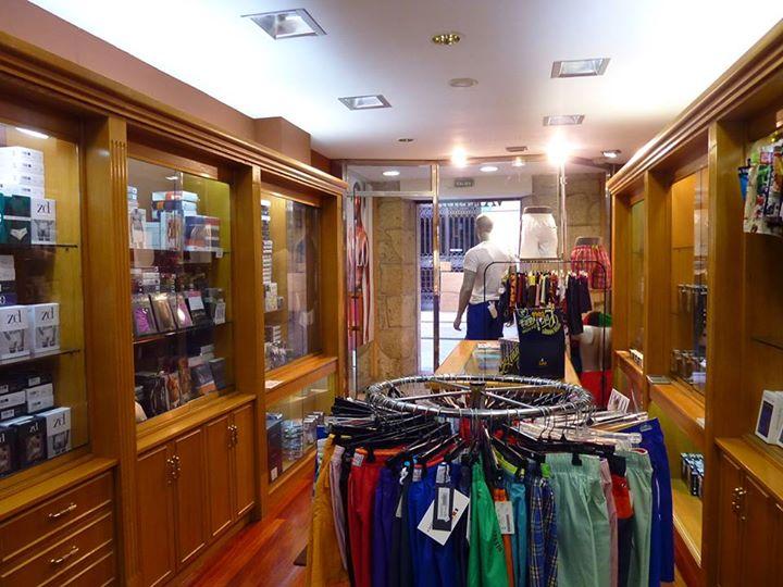 Interior de la tienda de Varela Intimo