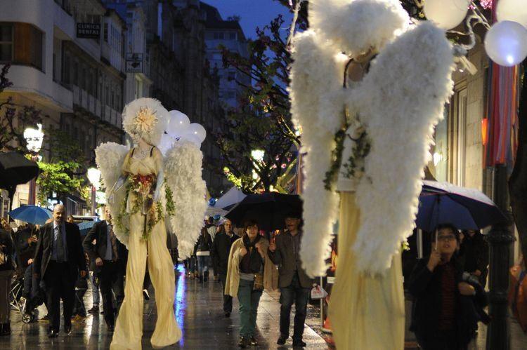 Actuaciones en la calle Shopping nigth Ourense