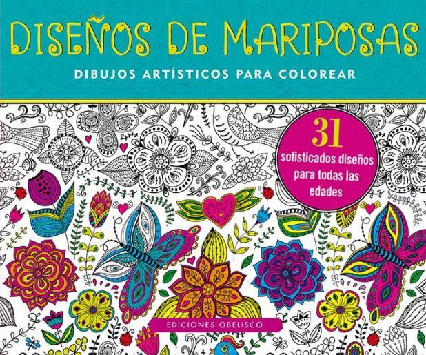 Libro Diseños de mariposas