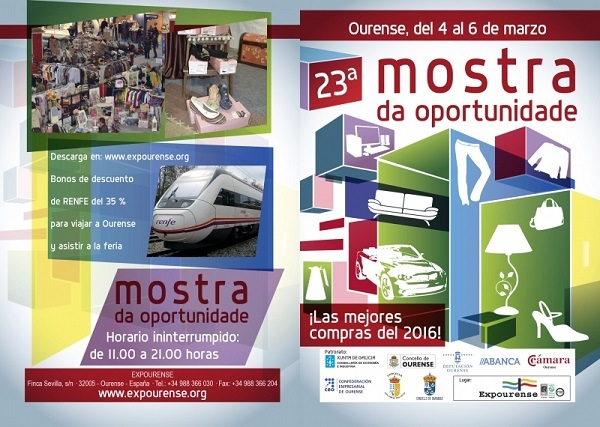 Mostra oportunidade Ourense cartel