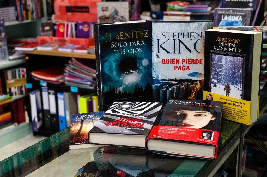 Libros de Terror de Librería Padre Feijoó