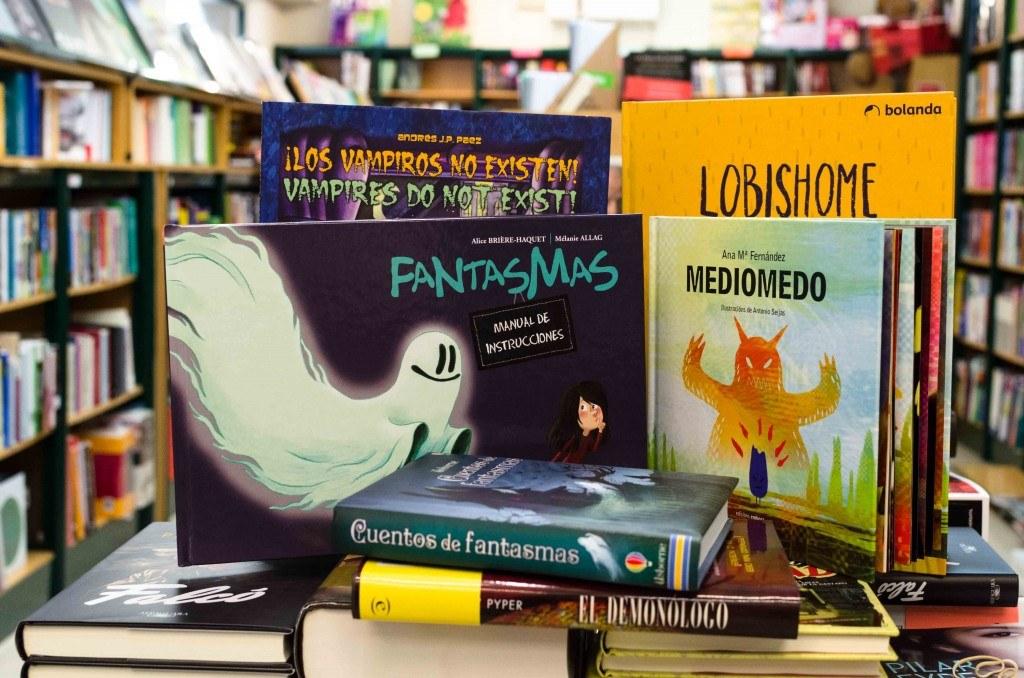 Libros de Terror infantiles en Kathedra librería Universitaria
