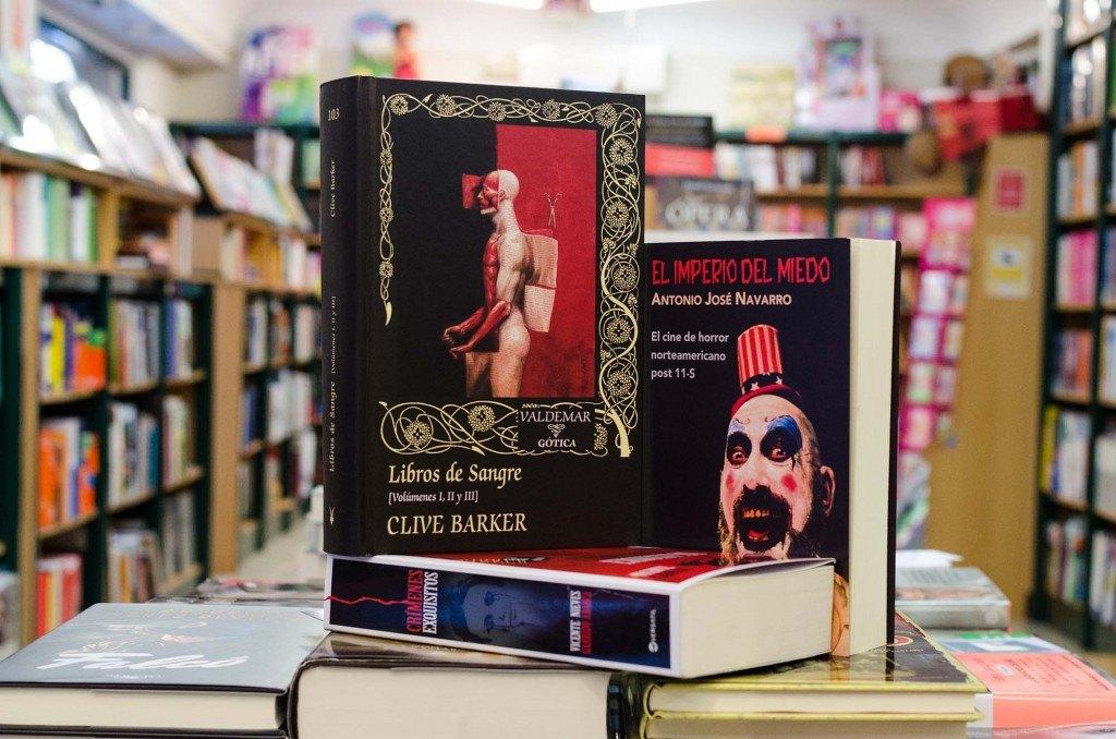 Libros de Miedo en Kathedra librería Universitaria