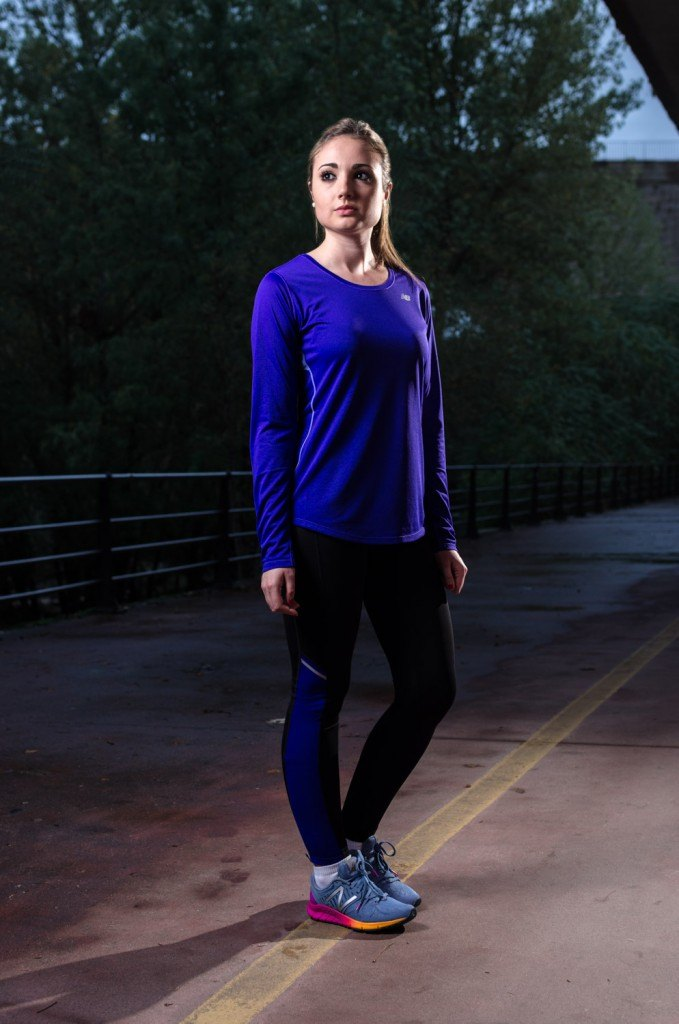 Look New Balance Chica Run Maniak Ourense