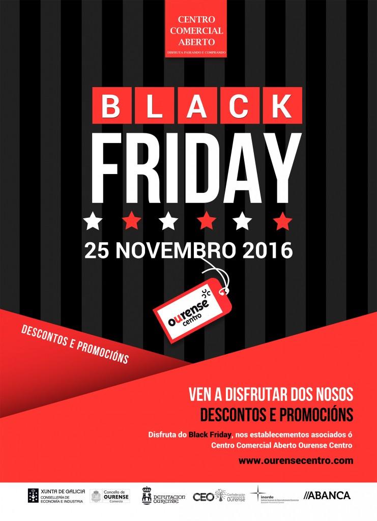 Black Friday Centro Comercial Aberto Ourense Centro