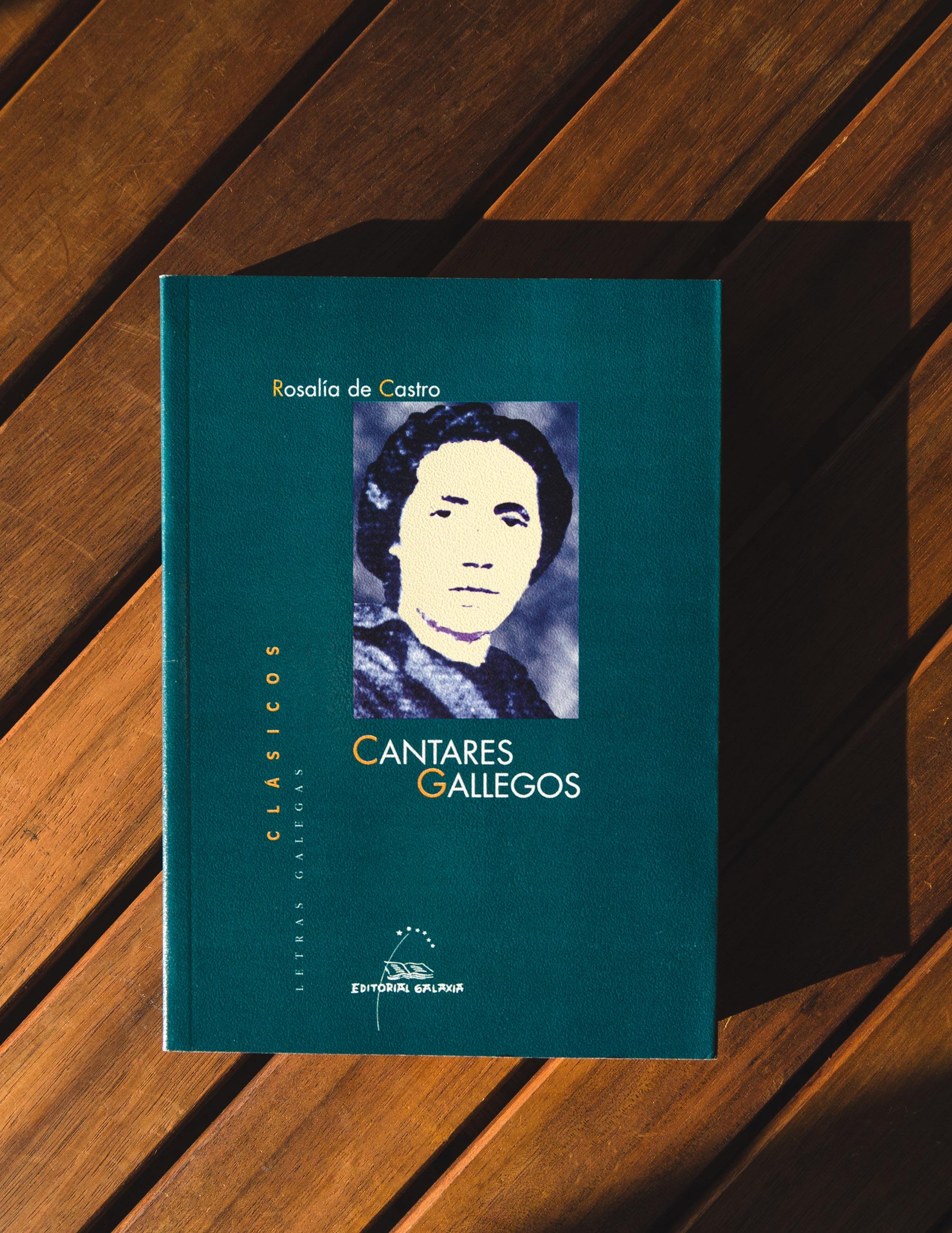 Libro Cantares Gallegos 2 - Rosalía de Castro