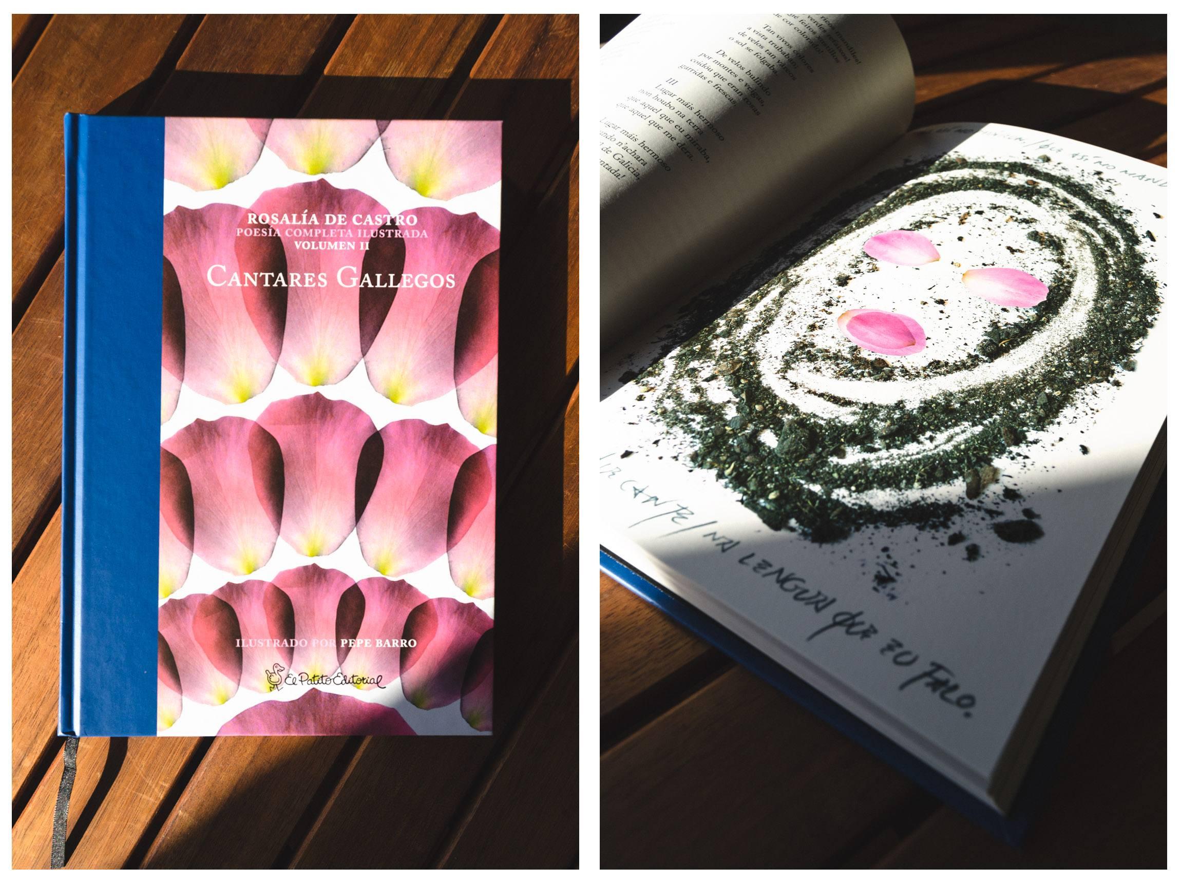 Libro Cantares Galllego - Rosalía de Castro