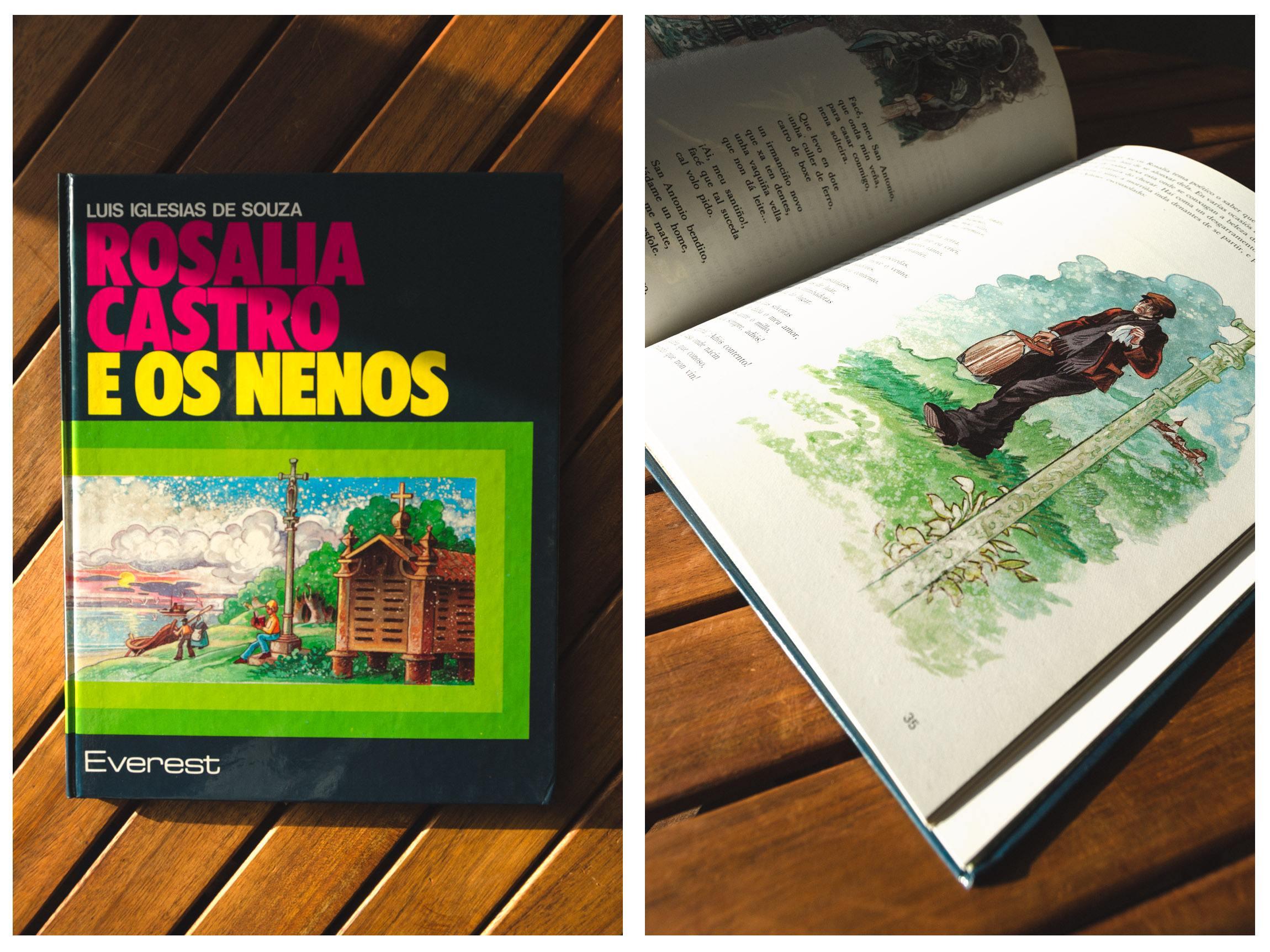 Libro rosalia e os nenos - Librería Padre Feijóo Ourense
