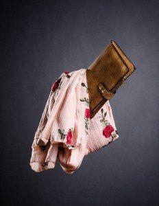 Cartera y pañuelo rosa - Regalos día de la madre