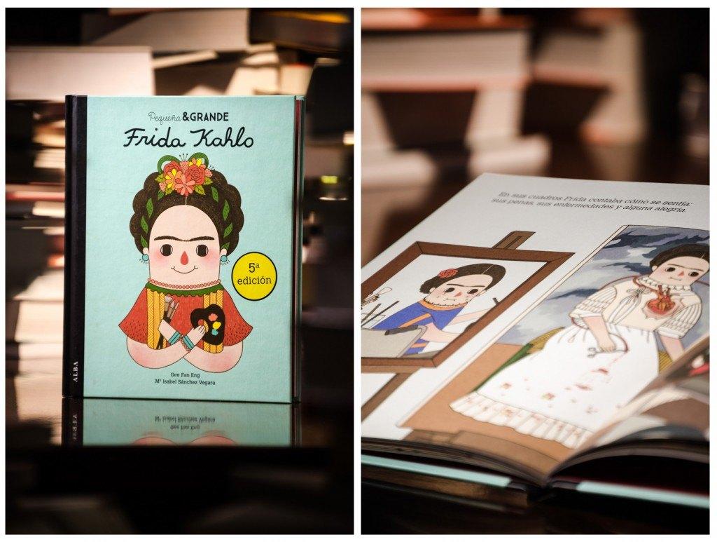 Libro Pequeña y grande. Frida Kahlo de Librería Padre Feijoo