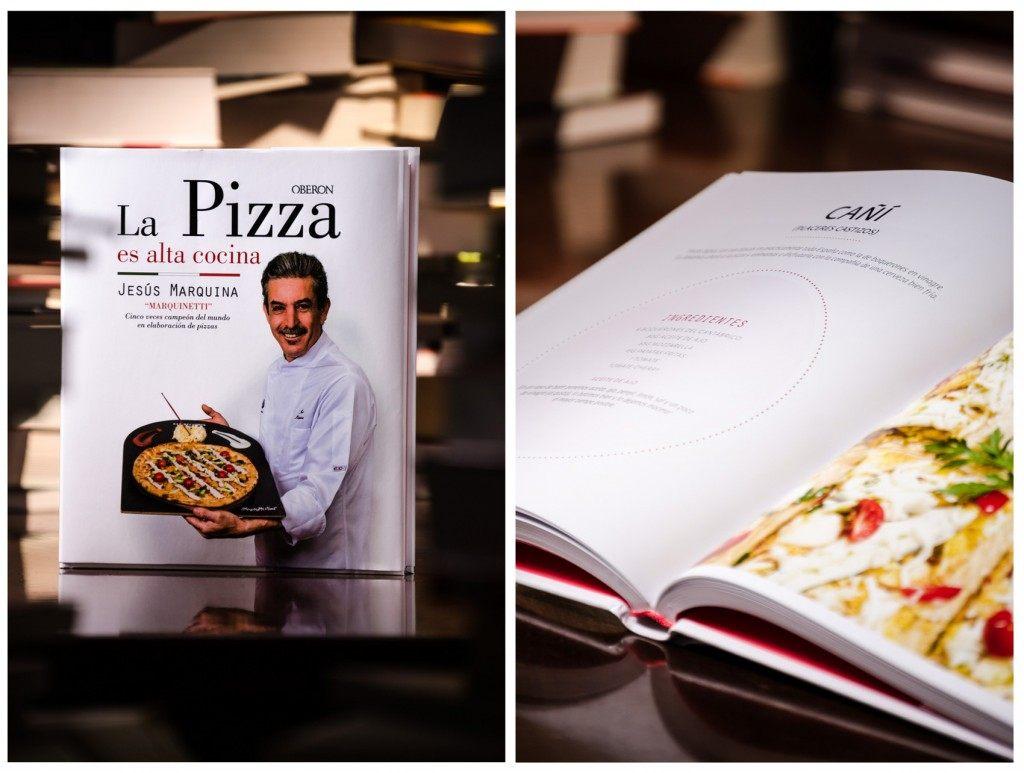 Libro la Pizza es alta cocina de Librería Queixumes