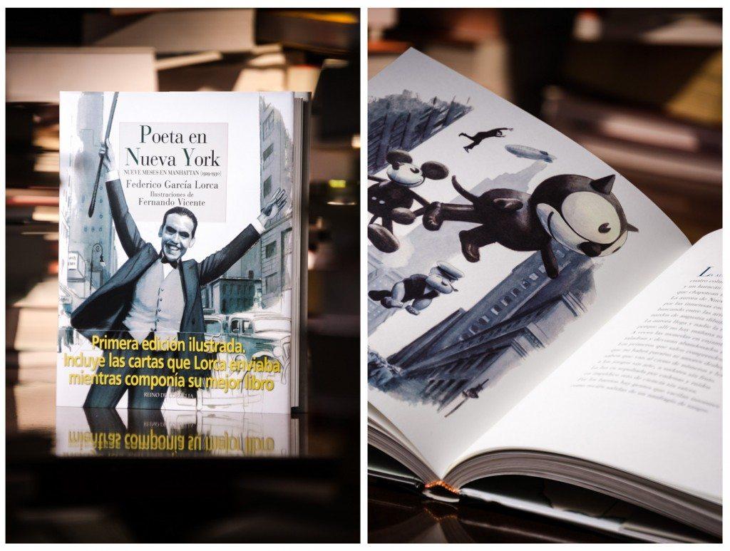 Libro Poeta en Nueva Yoen de Librería Platero