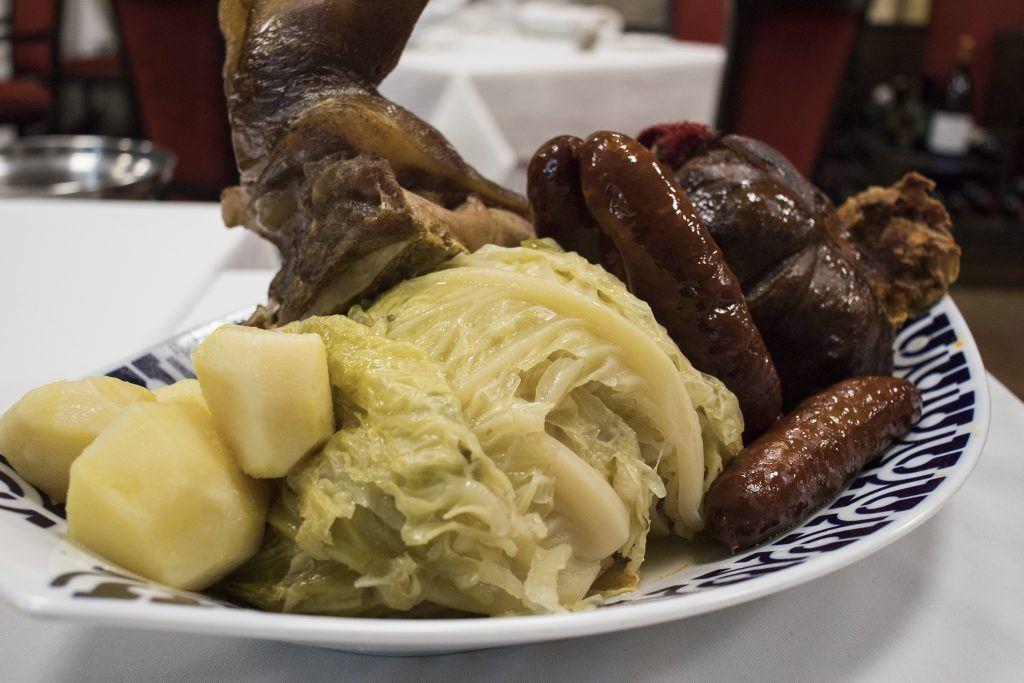 Cocido Galleo en Restaurante El Coto
