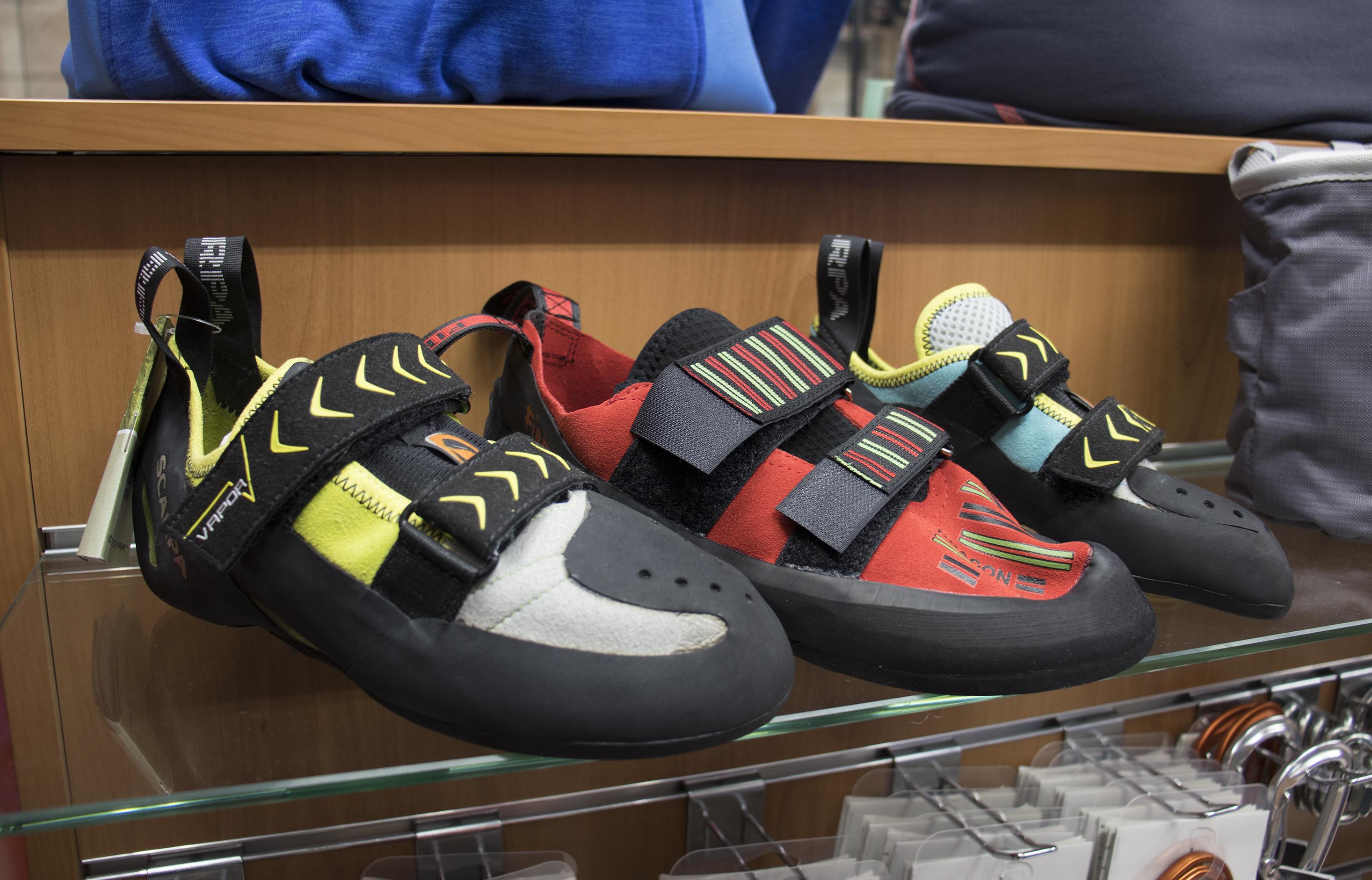 zapatillas de escalada entrepicos