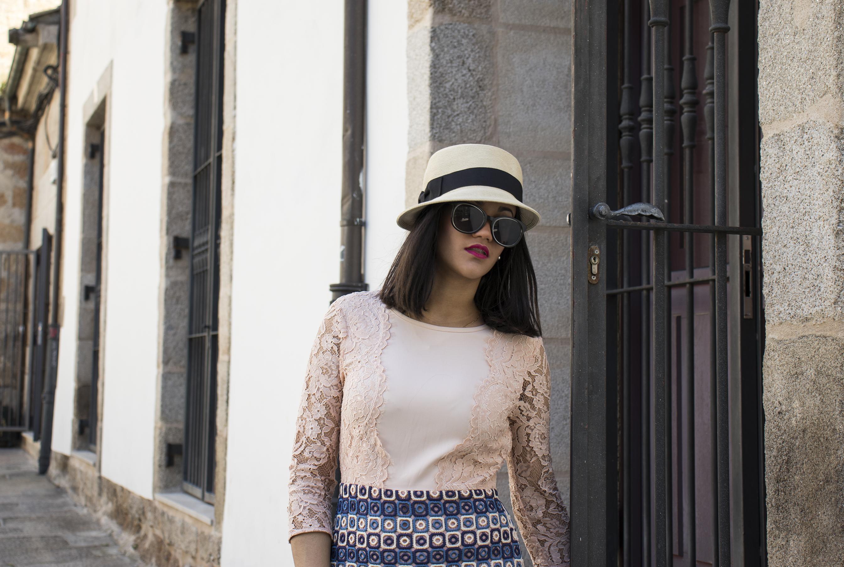 Sombreros La lucha, mujer