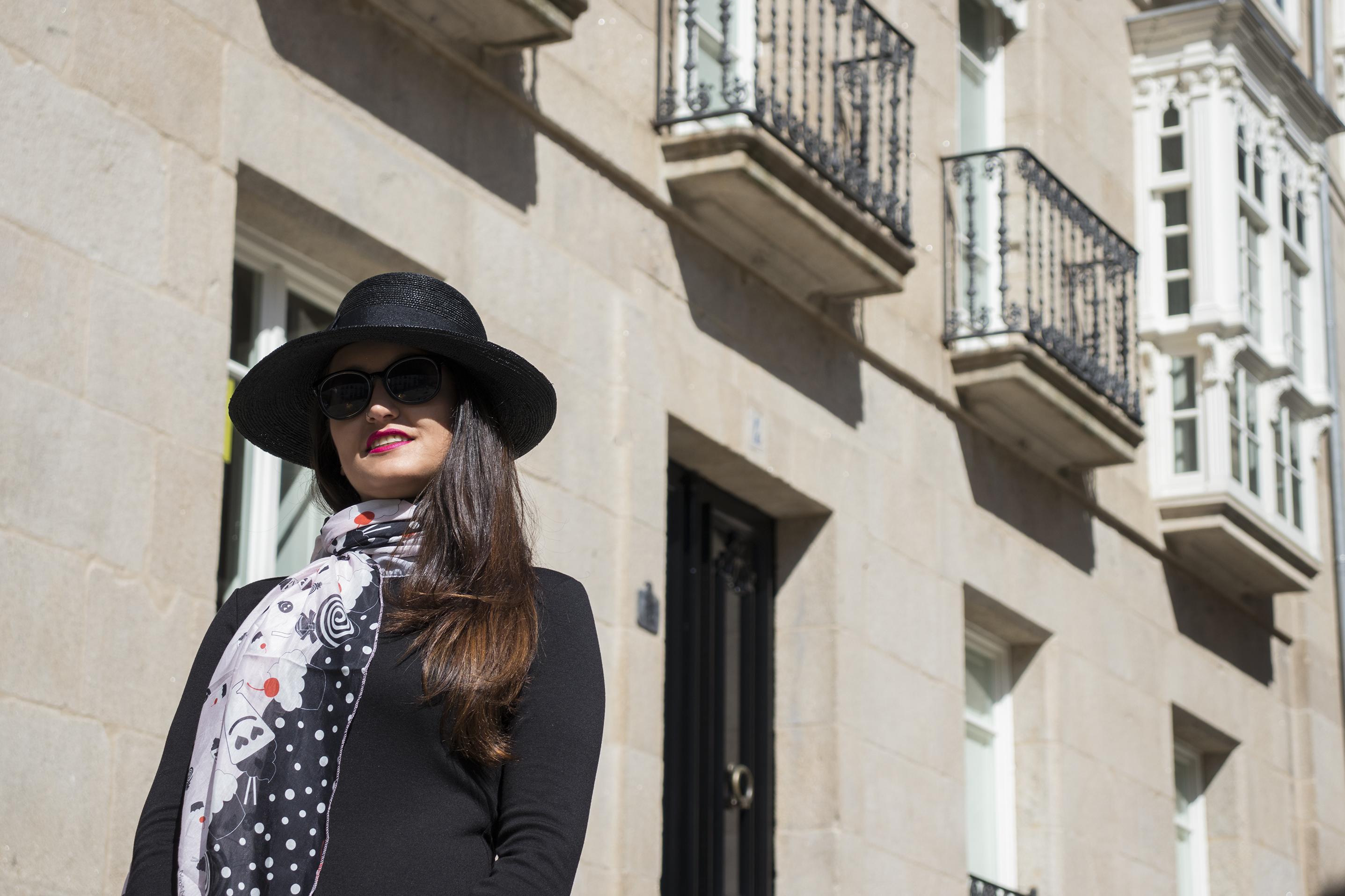 Sombreros La lucha, pamela negra