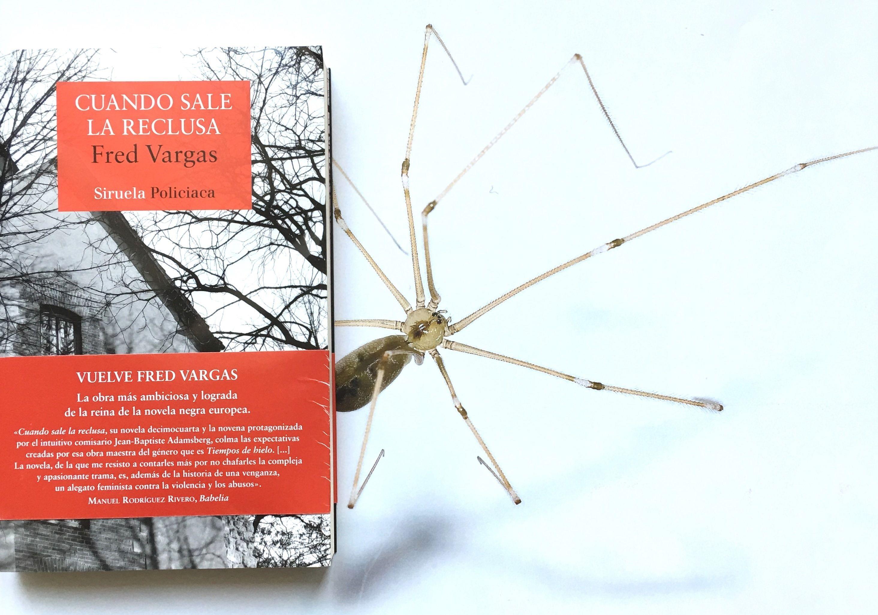 libro Cuando sale la reclusa, de Fred Vargas