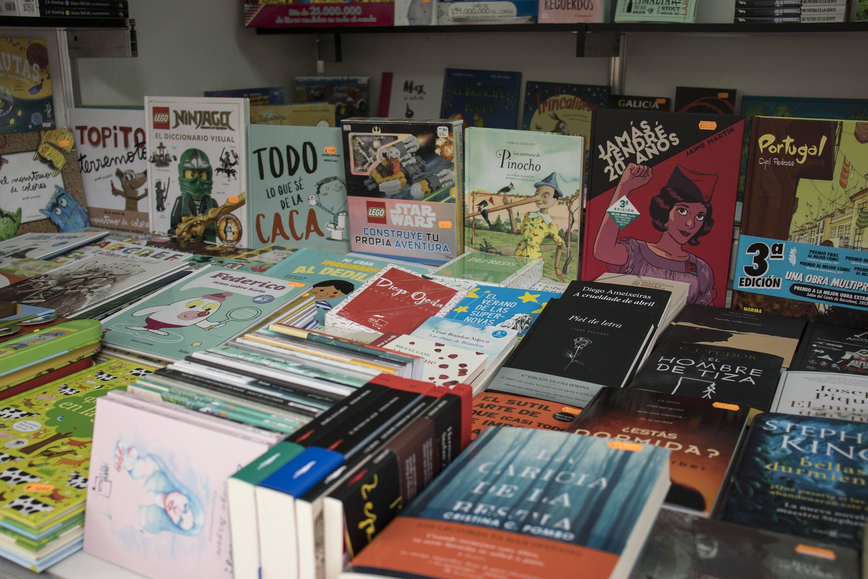 Feira do libro de Ourense 2018 Calle Paseo Ourense