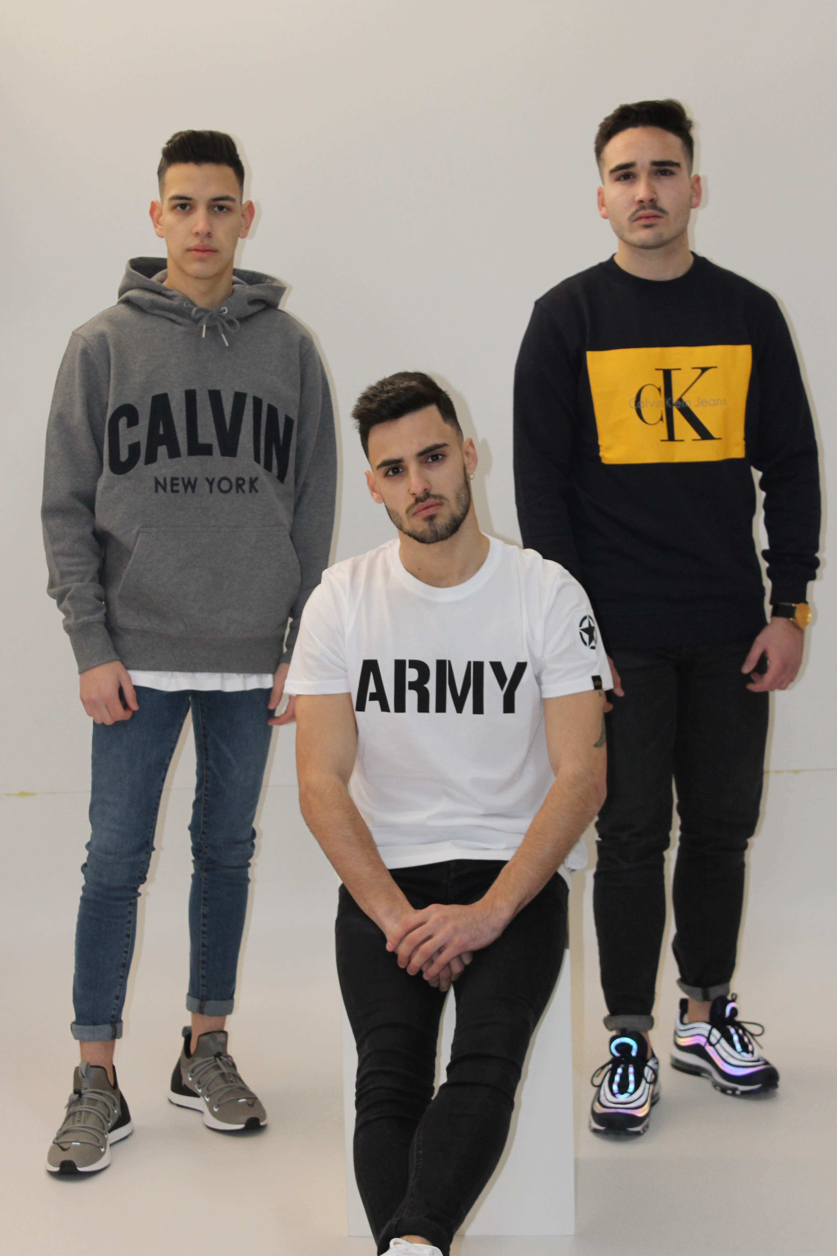 outfit: trio sudaderas urban
