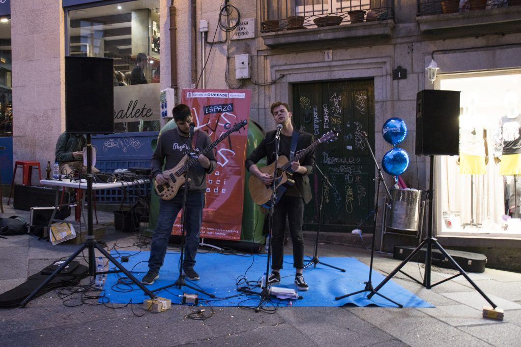 Concierto shoppingnight mind the gap