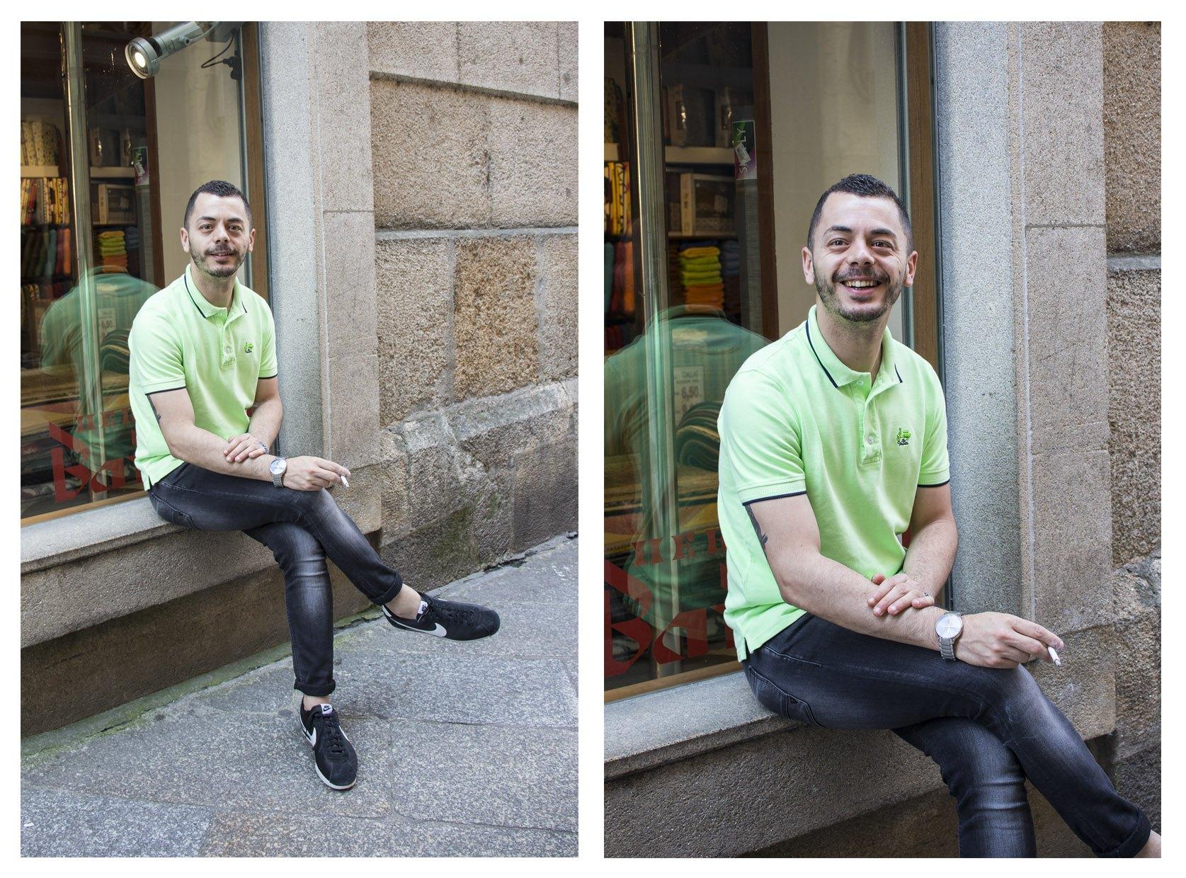Outfits masculinos en la calle - Moda na rúa - Ourense