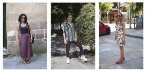 Moda na rúa: las tendencias de los ourensanos