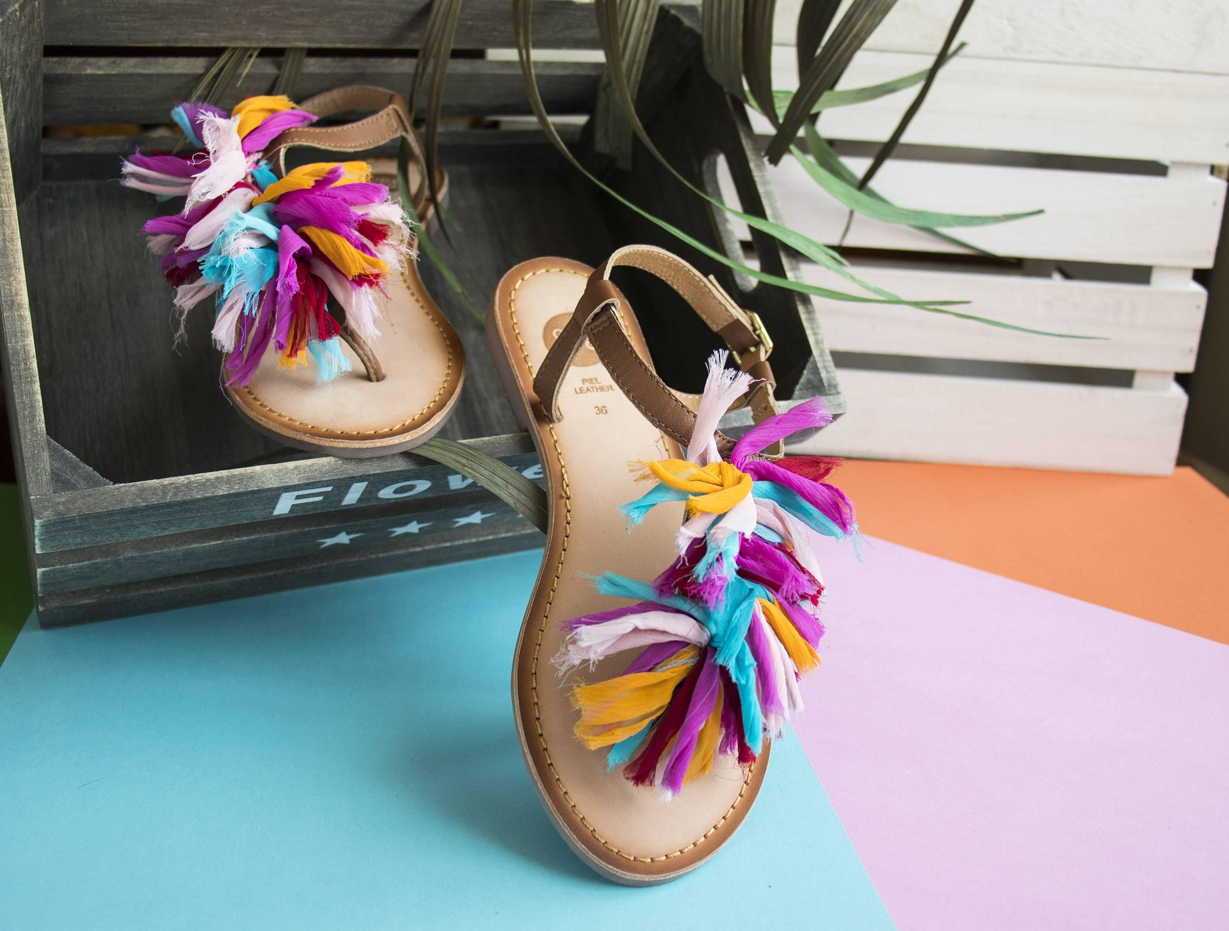 Sandalias multicolor Gioseppo