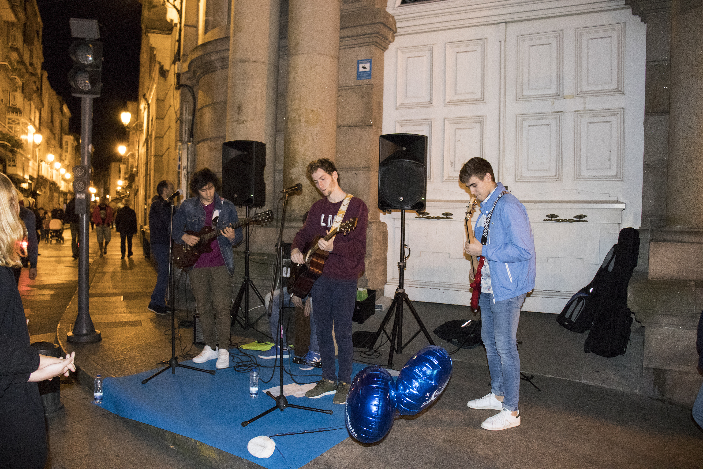Winter Tide, grupo musical ourensano Shopping Night