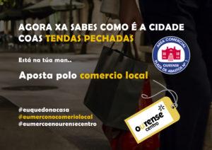 Apoyo al comercio local y al mercado de abastos.