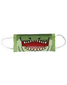Mascarilla infantil reutilizable Animal Mask cocodrilo