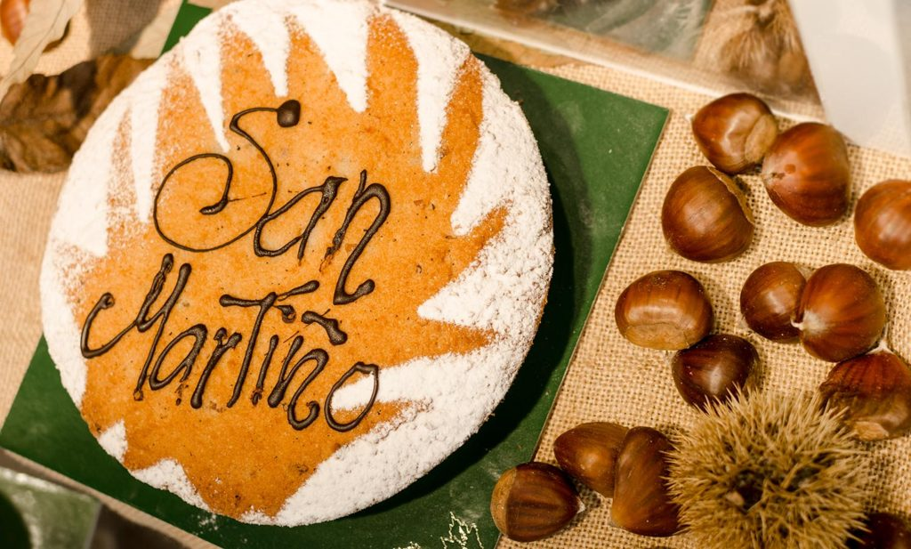 tarta de castañas San Martiño MilHojas