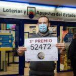 Jorge Anta reparte 500.000 euros de ilusión en la Lotería de Navidad