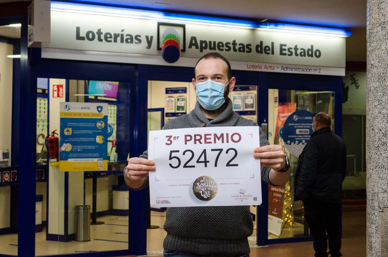tercer premio loteria de navidad Anta-1