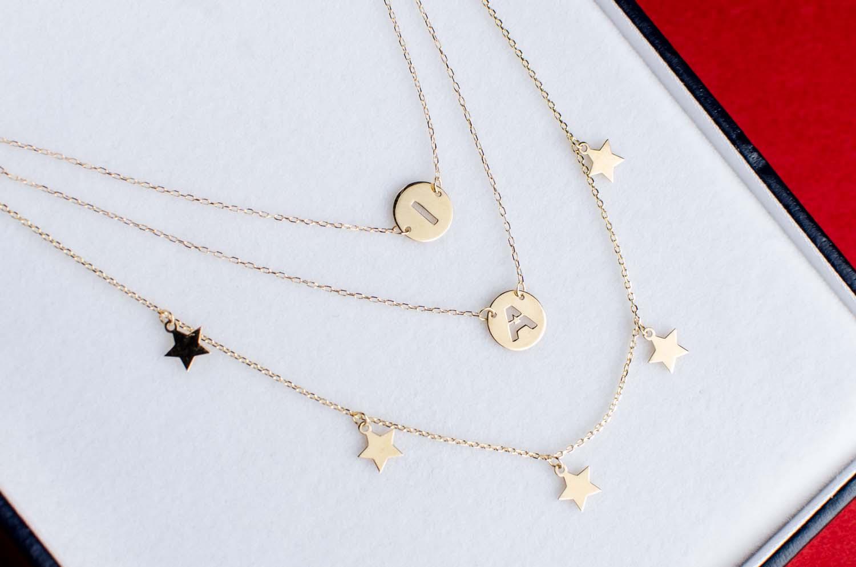 regalo san valentin colgante letras estrellas joyeria suiza-1