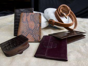 Bolsos y artículos de piel