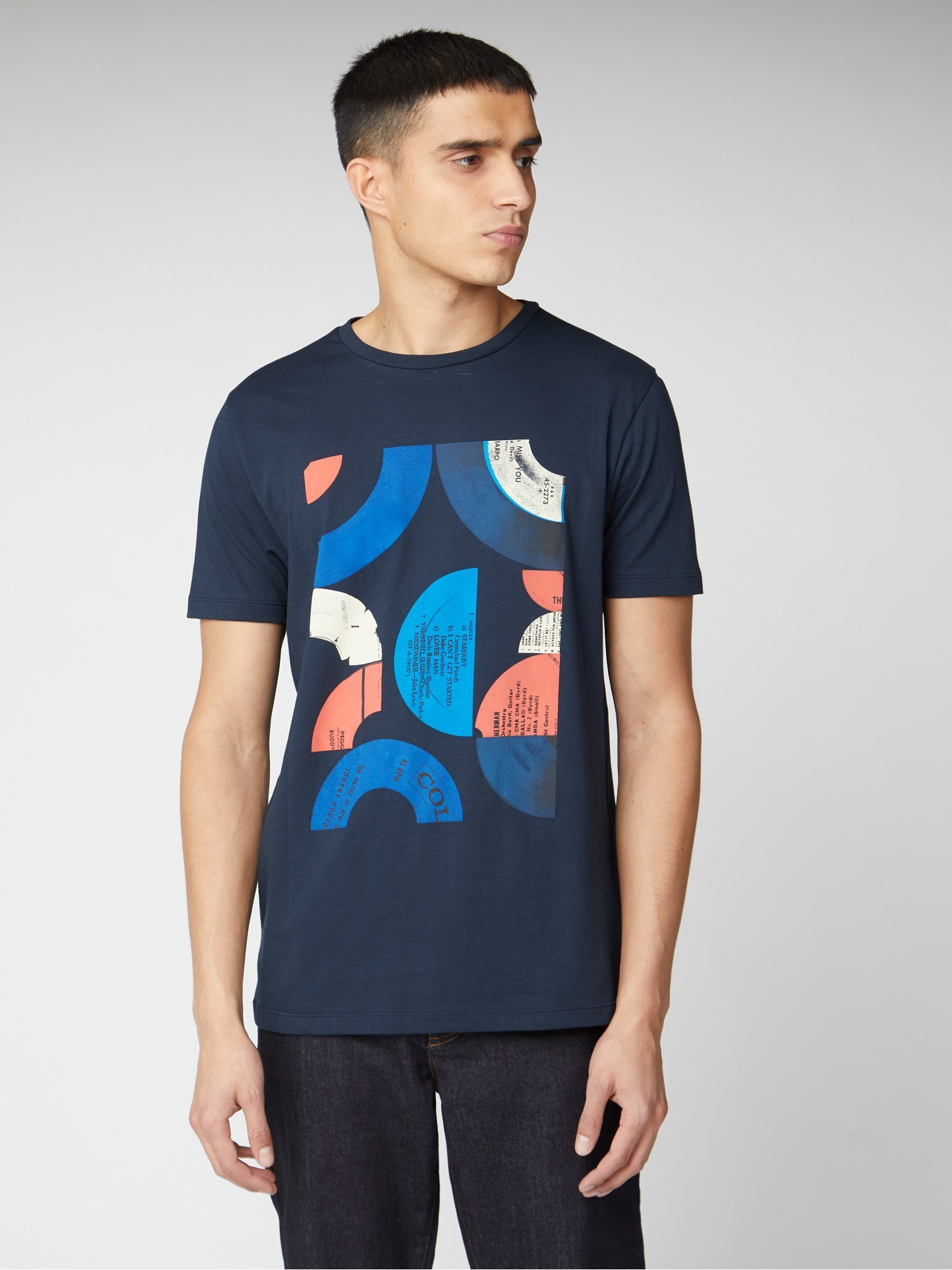 Camiseta Ben Sherman Record Targets Tee
