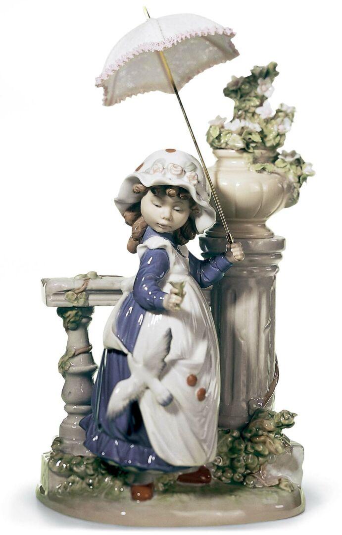 Lladró niña con parasol 05284