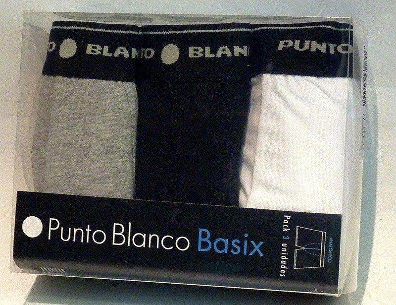 Pack 3 calzoncillos Punto Blanco Basix