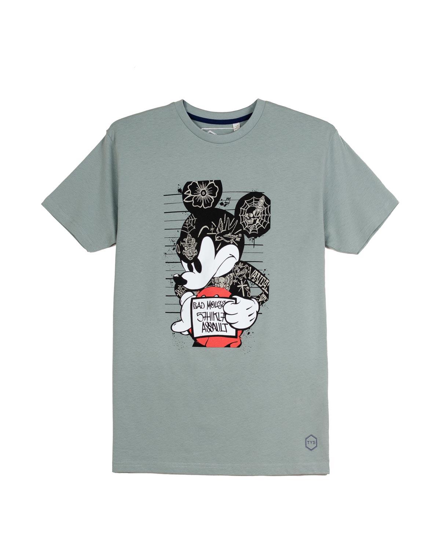 Camiseta Mickey Mouse tatuajes cárcel