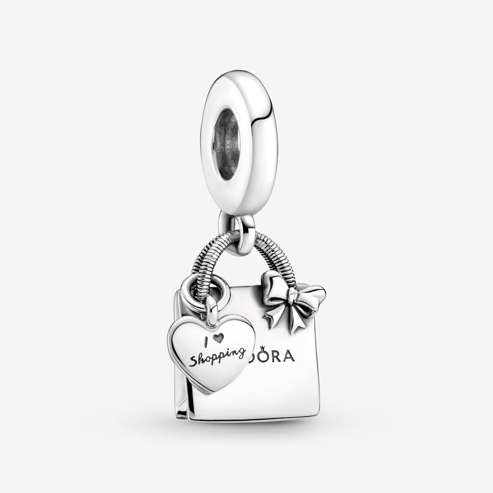 Charm Colgante Bolsa de la Compra Pandora