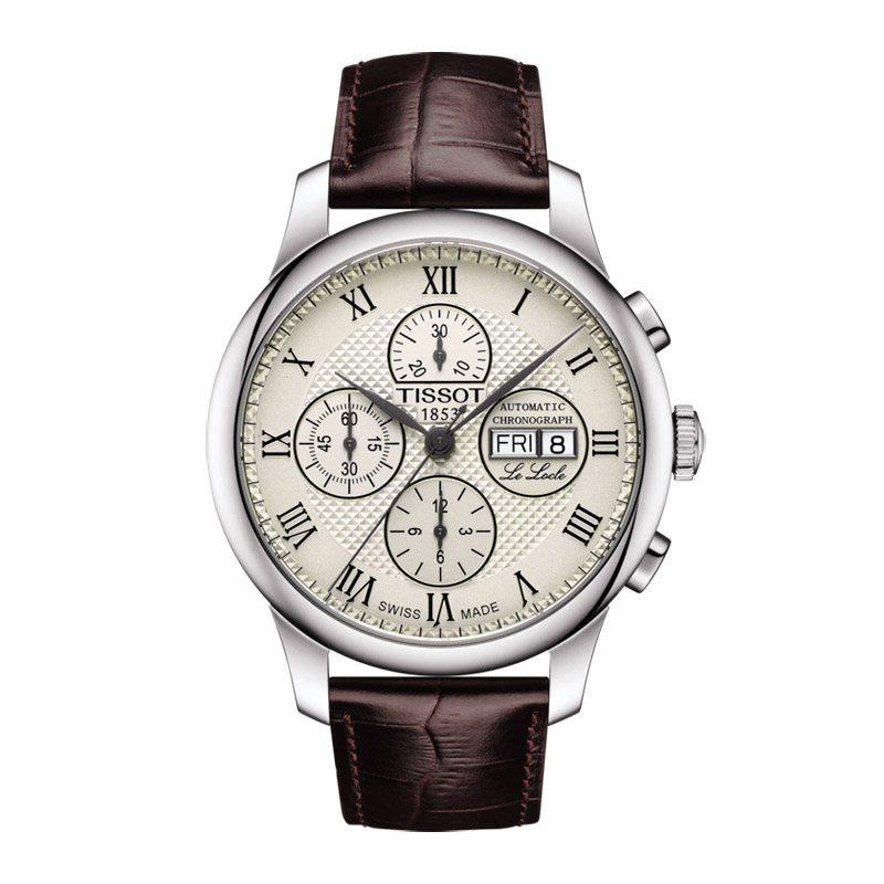 Reloj Tissot Le Locle Valjoux Chronograph