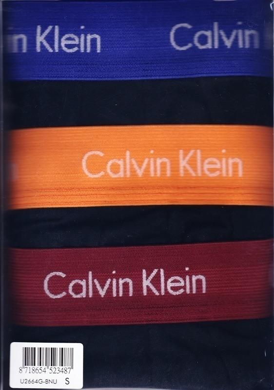 Pack 3 boxers Calvin Klein negros