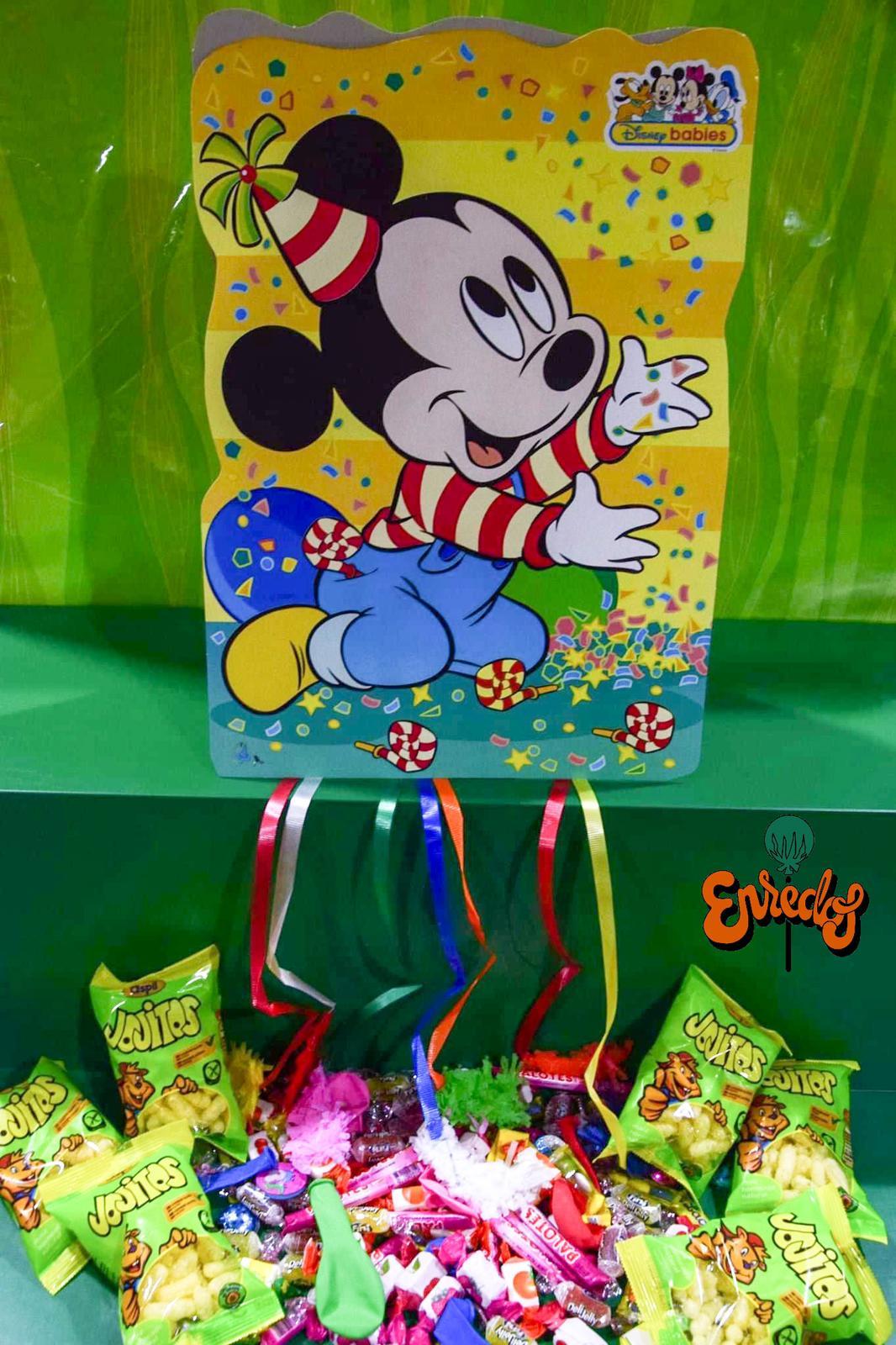 Piñata infantil con relleno incluído