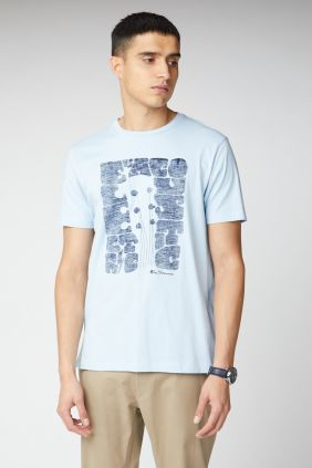 Camiseta Ben Sherman Guitar Head tee