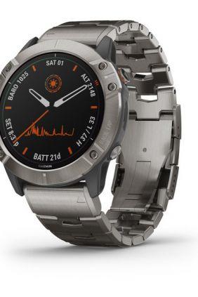 SmartWatch Garmin Fenix 6X: edición Pro Solar titanio