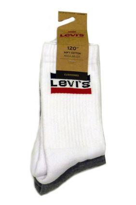 Comprar Calcetines blancos y grises Levis