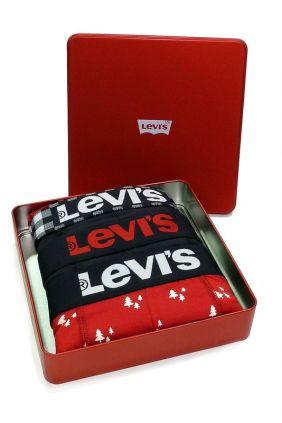comprar Pack 3 Bóxers Levis para regalar en navidad