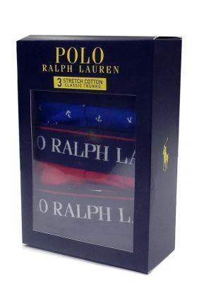 Pack 3 Bóxers Polo Ralph Lauren RAM