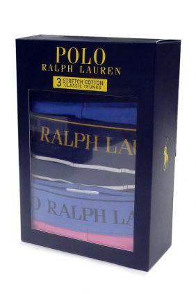 Pack 3 Boxers Polo Ralph Lauren MRR