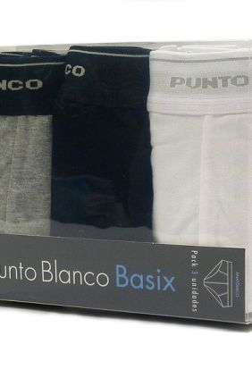 Oferta ONline Pack 2 Slips Punto Blanco Basix negro